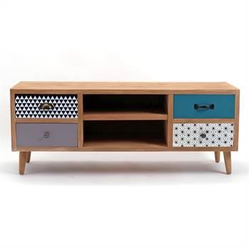 "TV Board ""CAPRI""    Kare Design 80996   Retro Lowboard"