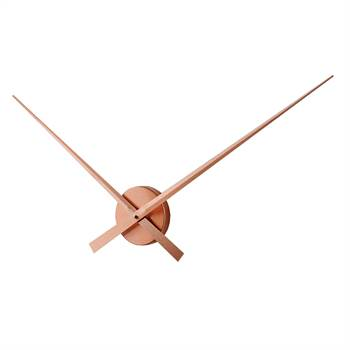 "Große Wanduhr ""BIG TIME"" | kupferfarben, Aluminium, Ø 80 cm | Uhr"