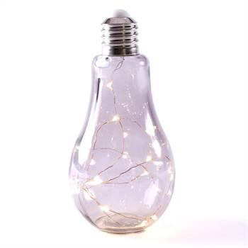 "Deko Leuchte ""SOLO"" | Glas, 19 LED, rauchgrau | Stehlampe"