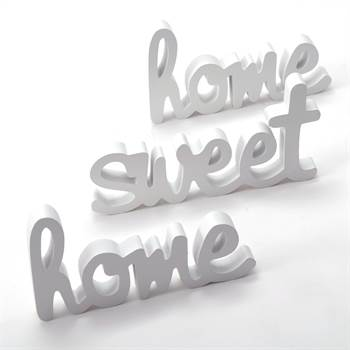 "Wall lettering ""HOME SWEET HOME"" 