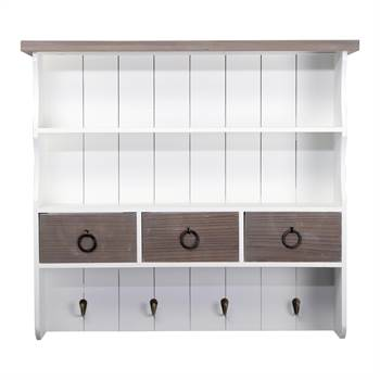 "Country style kitchen shelf ""INGRID"" 