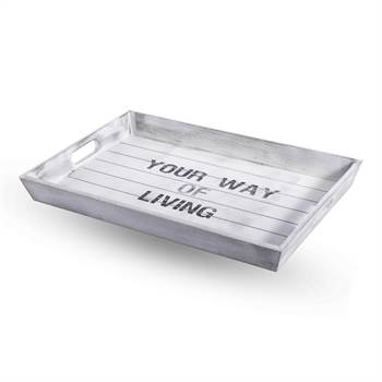 "Tablett ""YOUR WAY OF LIVING"" 