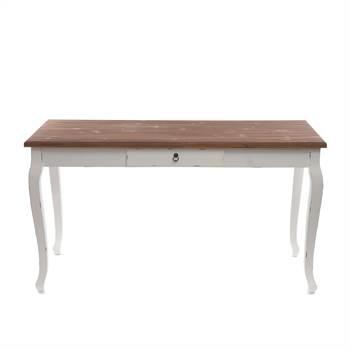 herrlicher landhaus tisch im used look xtradefactory. Black Bedroom Furniture Sets. Home Design Ideas