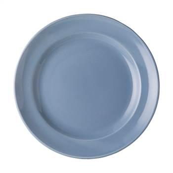 2 Teller ROYAL BOCH FLEURS BLEUES | 25,5 cm, Porzellan, blau