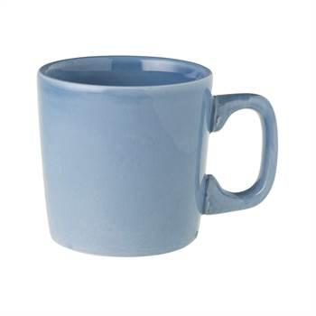 6 BECHER ROYAL BOCH FLEURS BLEUES| 7,5 cm, Porzellan, blau