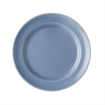 6 Teller ROYAL BOCH FLEURS BLEUES | 17,5 cm, Porzellan, blau