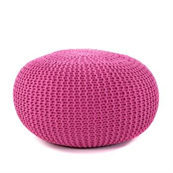 "Knitted pouffe ""LOTTE""  