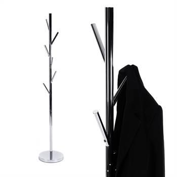 "Coat rack ""MILO"" | metal chromed, 68"" | wardrobe"