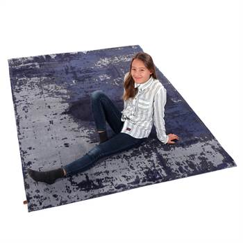 "Carpet ""SAVANNAH"" | 63""x90"", indigo | living room"
