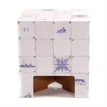 "HOCKER ""DUTCH TILES"" 