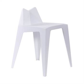 "Stuhl ""TRIANGLE"" | weiß, 58cm | Kare 82086"