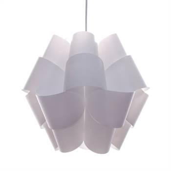 "Hanging lamp ""GEMMA"" | white, Ø 15"" | pendant lamp"