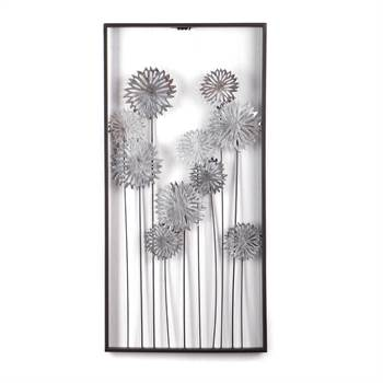 "Wall decoration ""PURE FLOWERS"" 