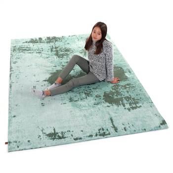 "Carpet ""SAVANNAH"" | 63""x90"", tropical green | living room"