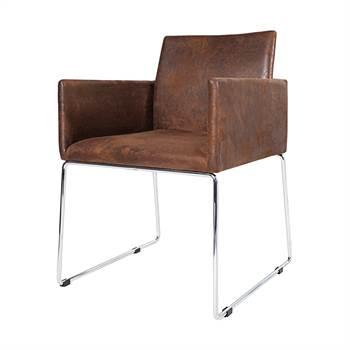 "Dining chair ""AUSTIN"" | 31.5"", antique coffee | livingroom chair"