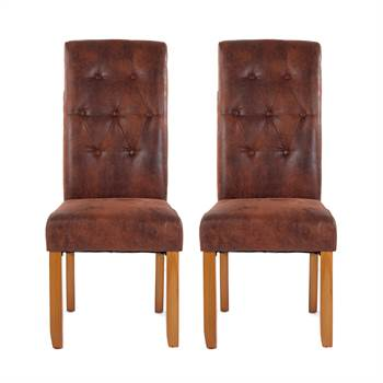 "2 Pcs set chair ""NELSON"" 