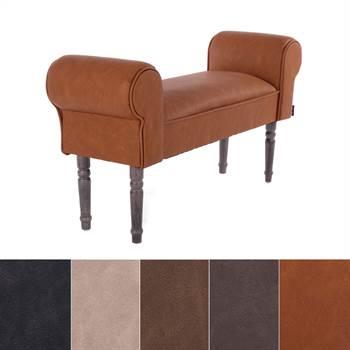 """Design seating bench """"VINTAGE""""   39.5"""", upholstered   vanity bench"""