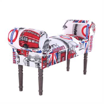 "Seating bench ""UNION JACK"" 