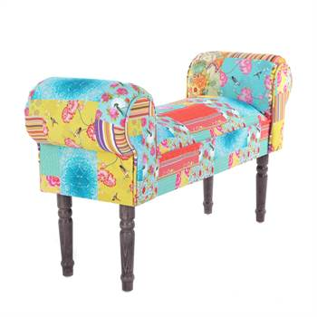 "Design seating bench ""NEW PATCHWORK"" 