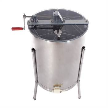 Manual honey extractor BEEComb | 4 combs, stainless steel | beekeeping