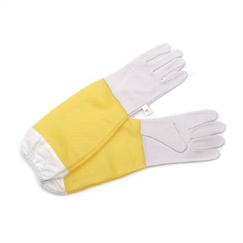 Beekeeping gloves BEEComb | leather, size L | protective gloves