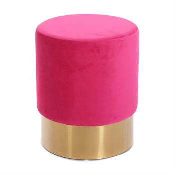 "Hocker ""CHERRY PINK BRASS"" 