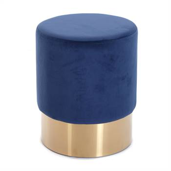 "Hocker ""CHERRY BLAU BRASS"" 