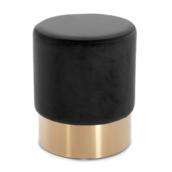 "Stool ""CHERRY BLACK BRASS"" 