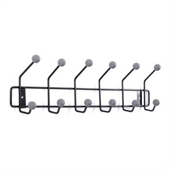 "Coat rack ""BUD BLACK"" 