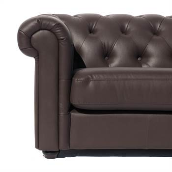 """Sofa """"CLASSY CHESTERFIELD ATMOSPHERE""""   Kunstleder   Dreisitzer"""