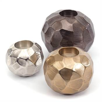 "3 Pcs Set Candle light holder ""PLANET"" 
