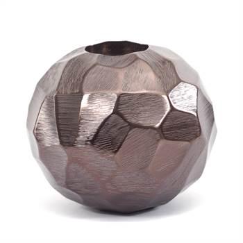 "Teelichthalter ""PLANET"" | Metall, 13x10,5 cm, bronze | Kerzenhalter"