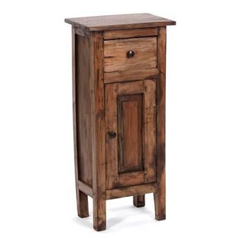 "Hallway cabinet ""PLANT 80"" | mahogany, 80x36x25cm | telephone table"