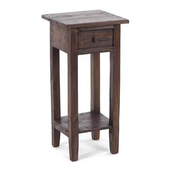 "Telephone table ""DRAWER 65"" | mahogany, 65x31x31 cm | side table"