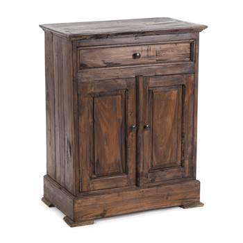 "Wooden cabinet ""FINCA"" | mahogany, 78x63x37cm (HxWxD) | sideboard"