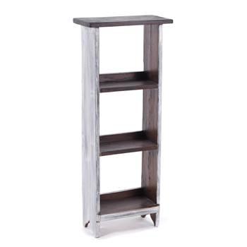 """DVD & bookshelf """"RUSTIC 88""""   88x35x18cm (HxWxD)   wooden shelf"""