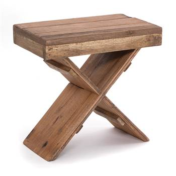 "Side table ""X 49"" 