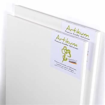 2x ARTIKUM | PREMIUM LINEN 50x70cm | canvas on stretcher frame