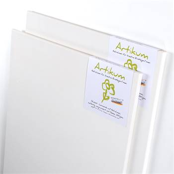 2x ARTIKUM | PREMIUM LINEN 60x80cm | canvas on stretcher frame
