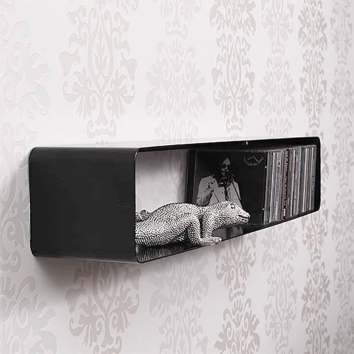 cd mbel stunning cddvd wandregal aus acryl mae nach. Black Bedroom Furniture Sets. Home Design Ideas