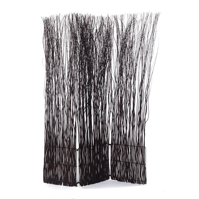 WILLOW WOOD ROOM DIVIDER Brown Nature Design Paravent