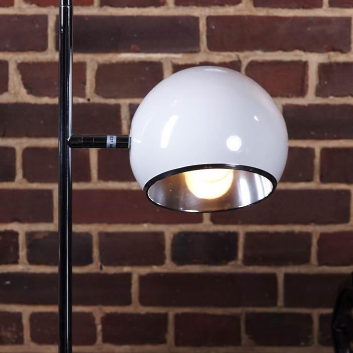 design 2 kugel stehleuchte lampe bubbles stehlampe leuchte wei ebay. Black Bedroom Furniture Sets. Home Design Ideas
