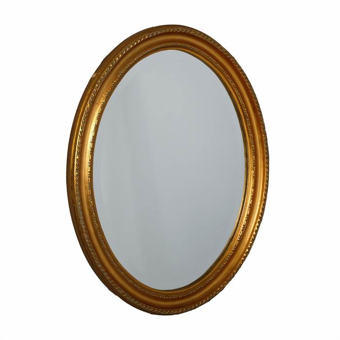 oval baroque wall mirror gold antique design baroque style framed ebay. Black Bedroom Furniture Sets. Home Design Ideas