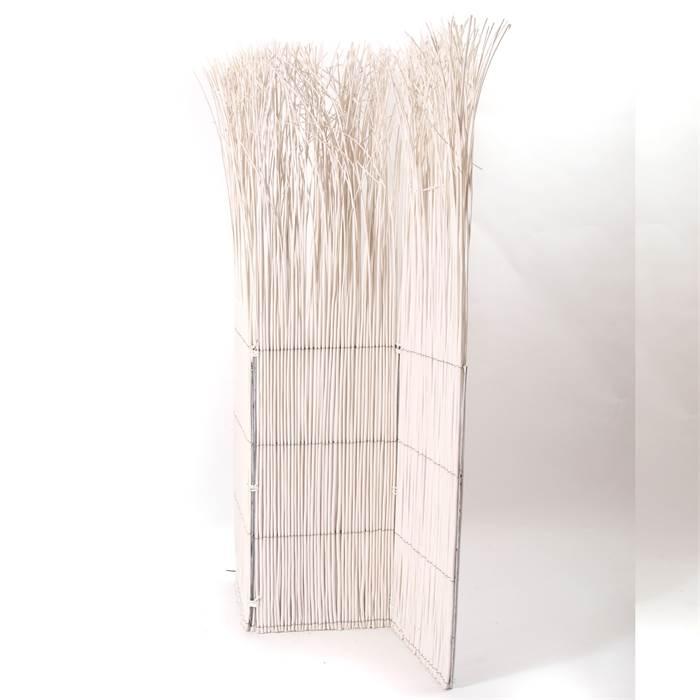 design raumteiler nature paravent raumtrenner trennwand weide holz weiss ebay. Black Bedroom Furniture Sets. Home Design Ideas
