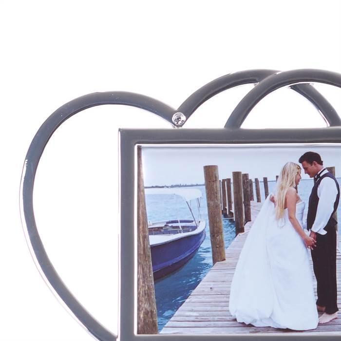 geschenk zur hochzeit bilderrahmen love memories fotorahmen mit herzen 10x15 cm ebay. Black Bedroom Furniture Sets. Home Design Ideas
