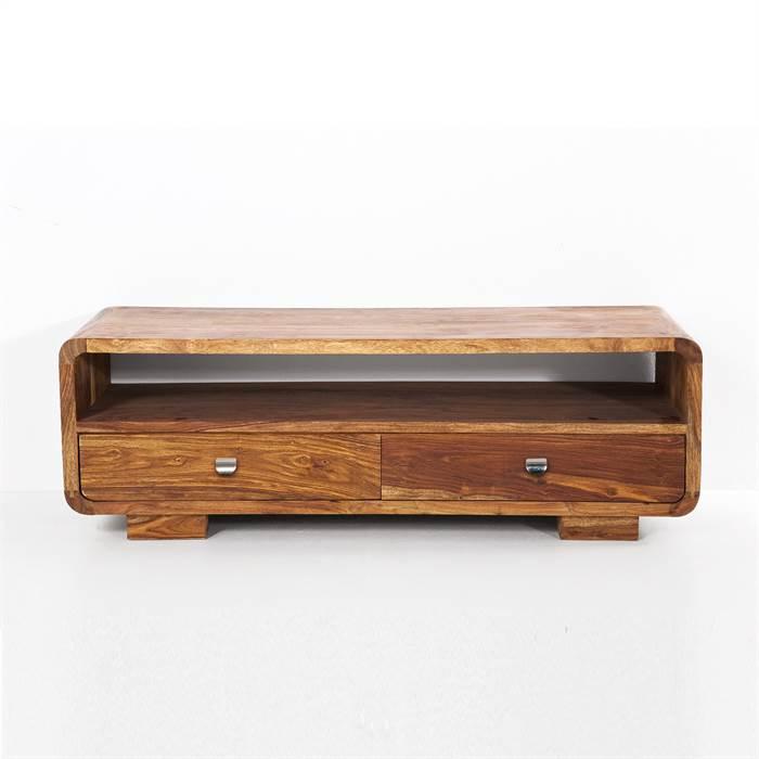 design holz tv tisch authentico fernsehtisch lowboard 120 cm ebay. Black Bedroom Furniture Sets. Home Design Ideas