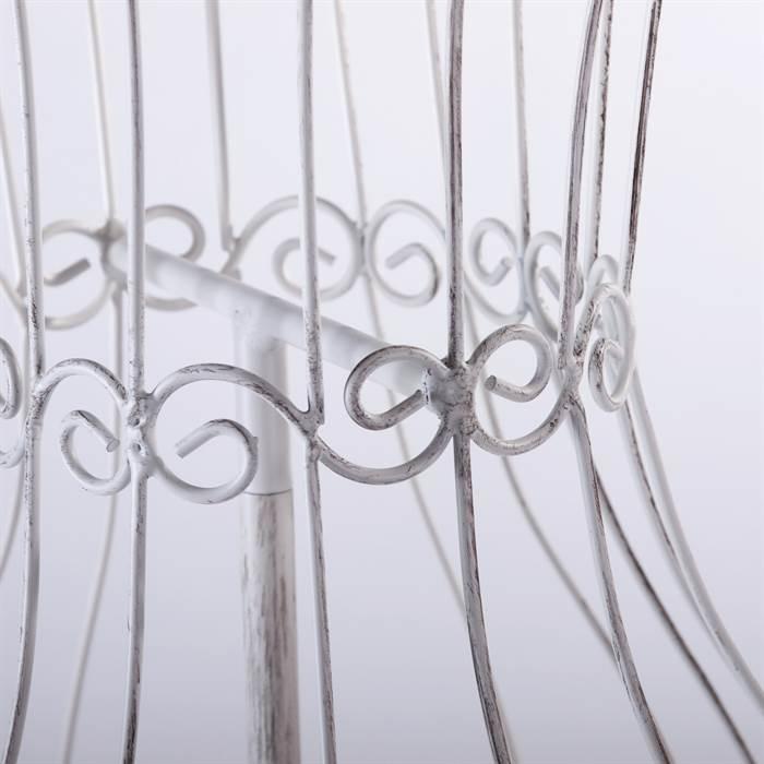metall b ste w schemodell schaufensterpuppe garderobe torso schneiderpuppe weiss ebay. Black Bedroom Furniture Sets. Home Design Ideas