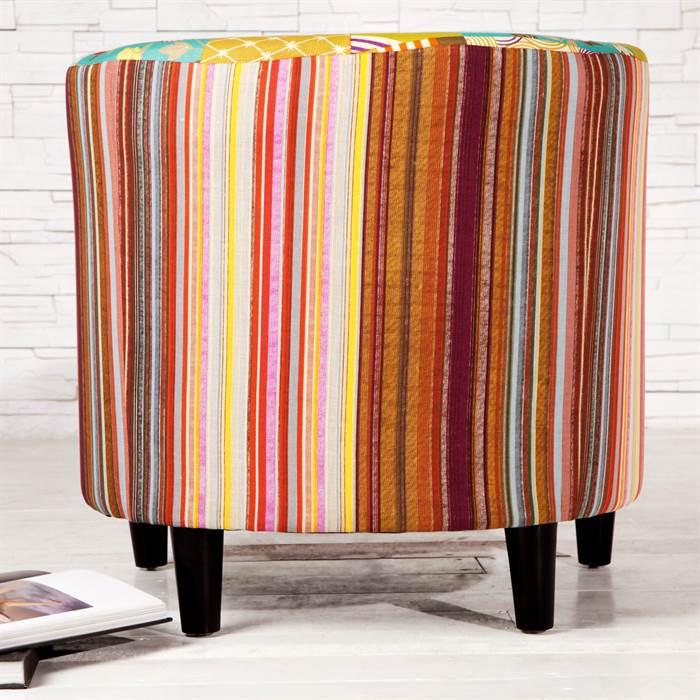 bild wohnzimmer bunt:Floral-Pattern Armchair