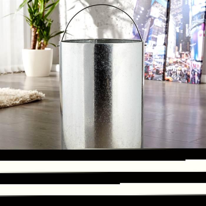 cooler push m lleimer 40 liter hellblau 65x30cm k chen abfalltonne ebay. Black Bedroom Furniture Sets. Home Design Ideas