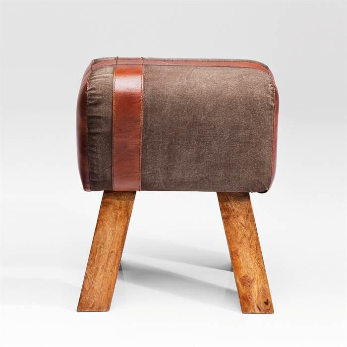 rustikaler sitzhocker old school bockspringen hocker. Black Bedroom Furniture Sets. Home Design Ideas